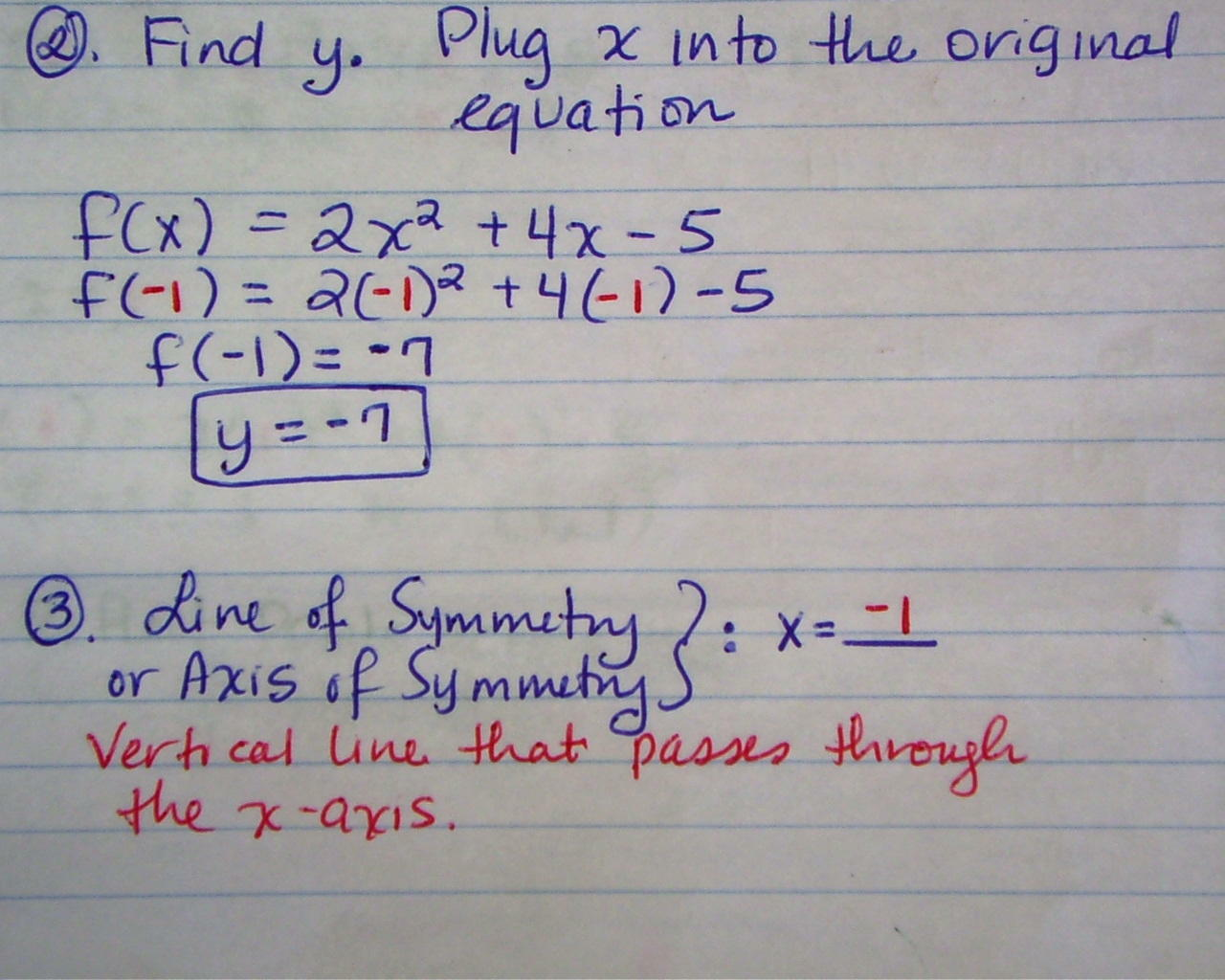 Chandra harriss blog math 2 support how to graph in standard form pg1 view this photo pg2 view this photo falaconquin